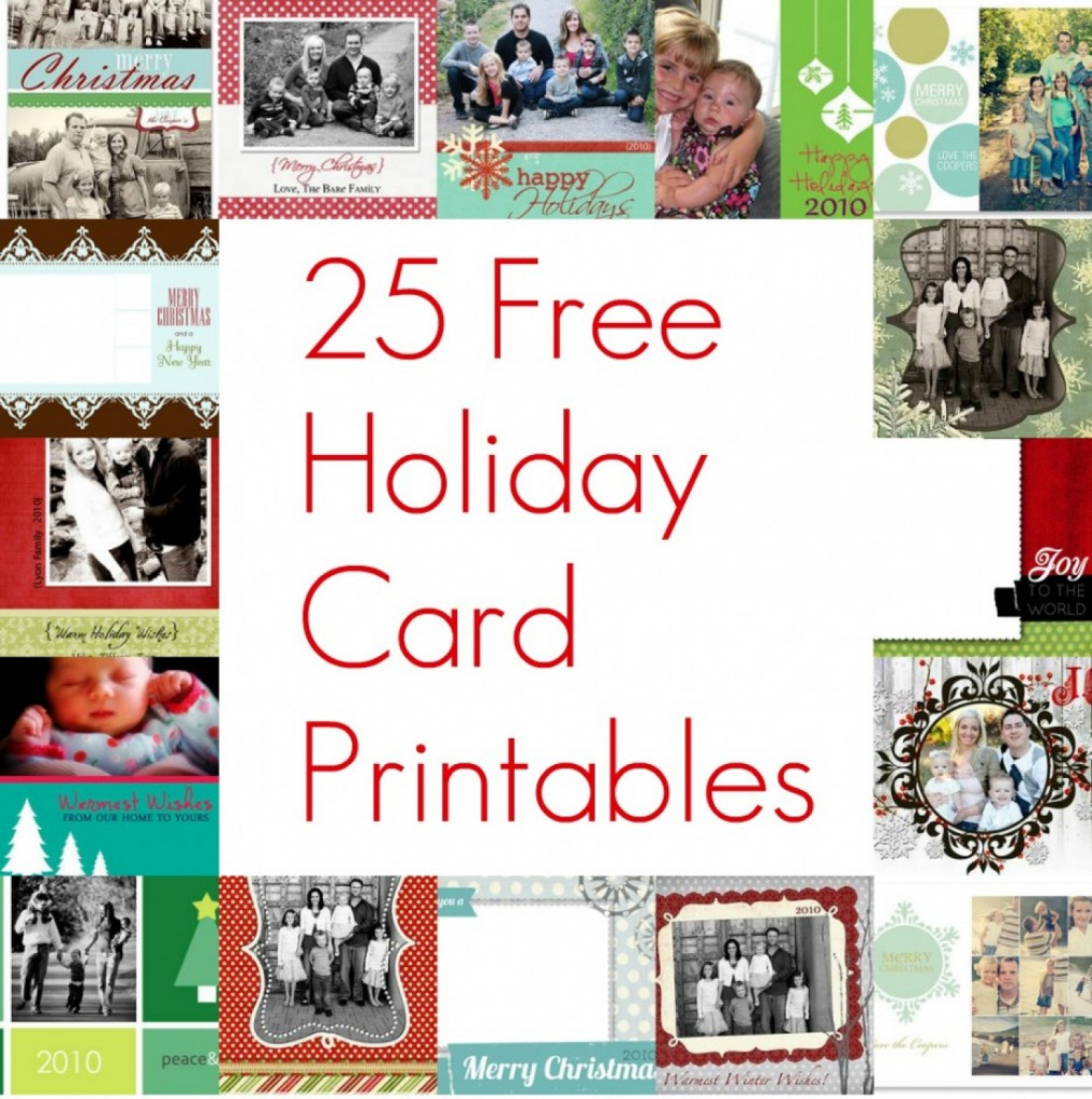 023 Template Ideas Free Holiday Cards Astounding Templates Printable | Free Printable Happy Holidays Greeting Cards