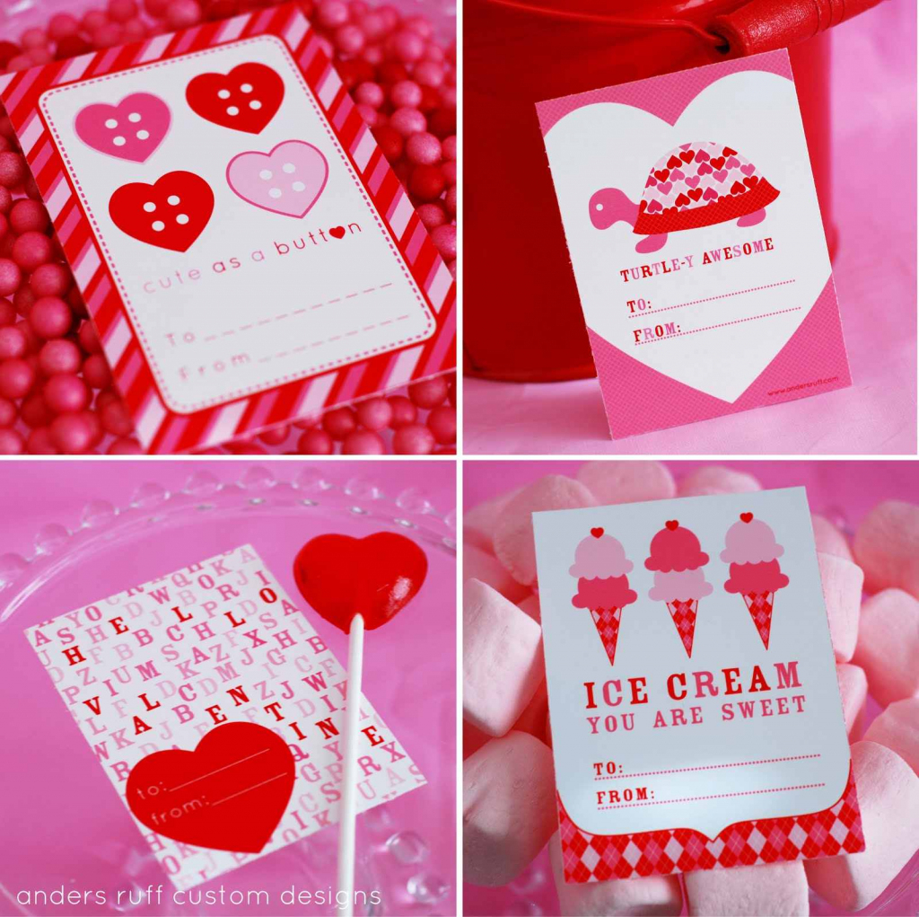 10 Free Printable Valentines Cards For Valentine's Day | Homemade Valentine Cards Printable