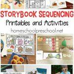 10 Story Sequencing Cards Printable Activities For Preschoolers | Free Printable Sequencing Cards For Preschool