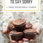 10 Ways To Apologize And Free Printable Cards | Making Life Blissful | Free Printable Apology Cards