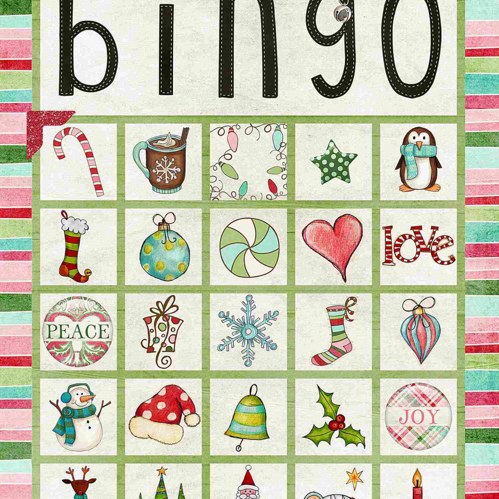 11 Free, Printable Christmas Bingo Games For The Family | Dltk Printable Bingo Cards