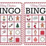 11 Free, Printable Christmas Bingo Games For The Family – Free | Free Printable Bingo Cards