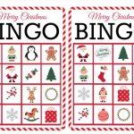11 Free, Printable Christmas Bingo Games For The Family   Free | Free Printable Bingo Cards
