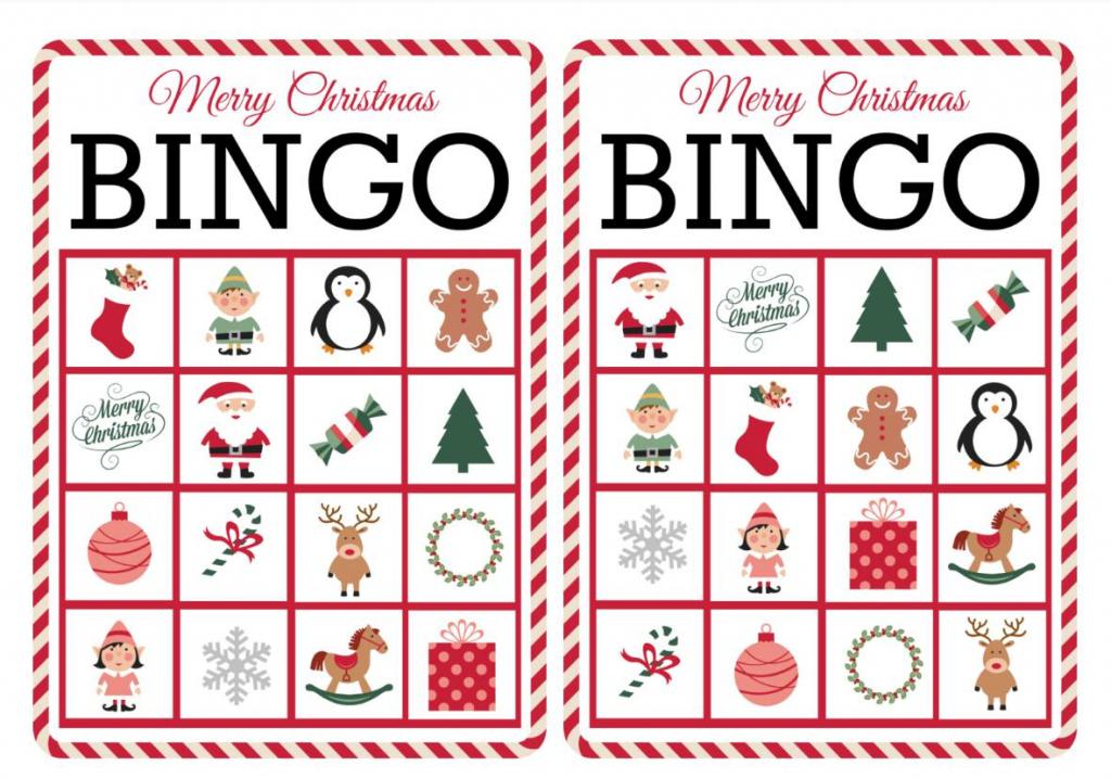 11 Free, Printable Christmas Bingo Games For The Family | Santa Bingo Cards Printable