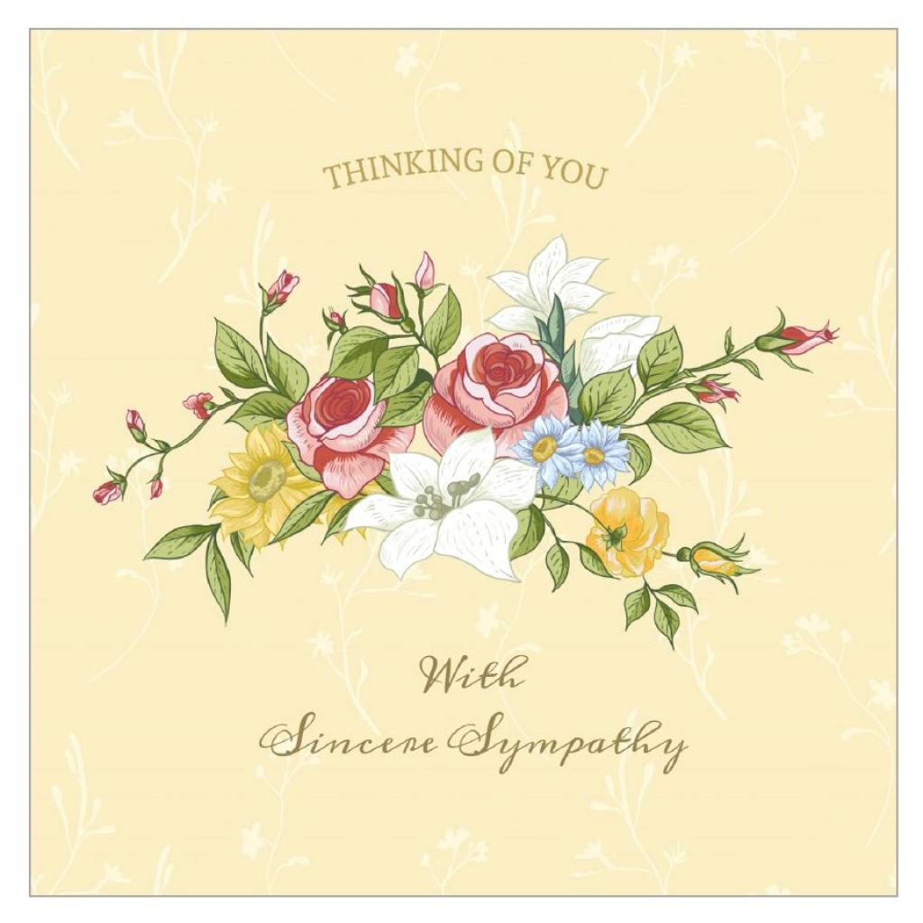 11 Free, Printable Condolence And Sympathy Cards | Free Printable Sympathy Cards For Loss Of Dog