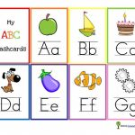 11 Sets Of Free, Printable Alphabet Flashcards | Free Printable Flash Card Maker Online