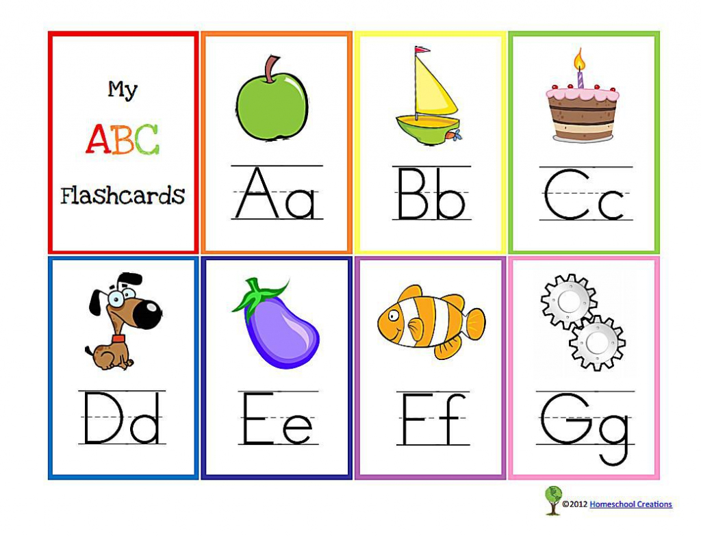 11 Sets Of Free, Printable Alphabet Flashcards | Printable Alphabet Cards Without Pictures