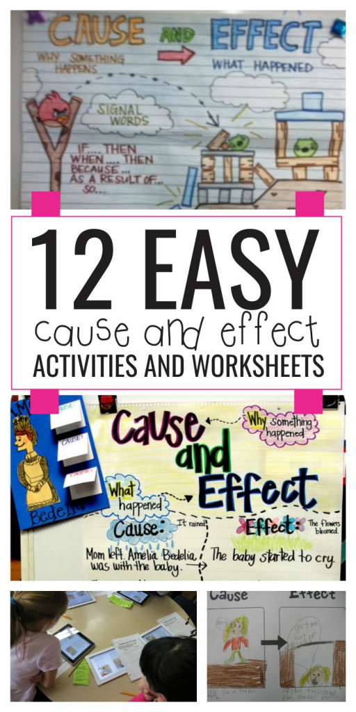 12 Easy Cause And Effect Activities And Worksheets - Teach Junkie | Free Printable Cause And Effect Picture Cards