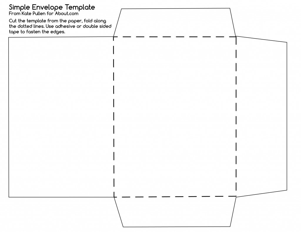 12 Free Printable Templates | D I Y | Envelope Template Printable | Printable Envelope Template For 4X6 Card