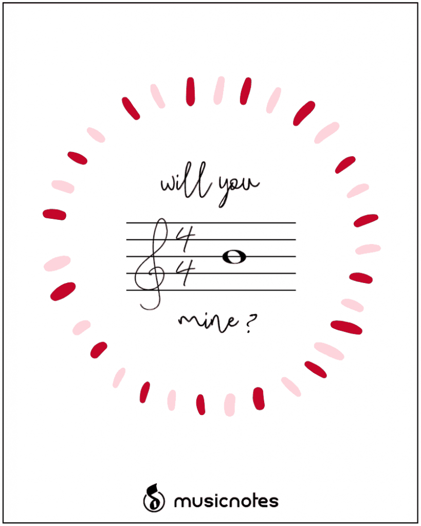 12 Musical Valentine's Day Cards (With Free Printables | Free Printable Valentines Day Cards