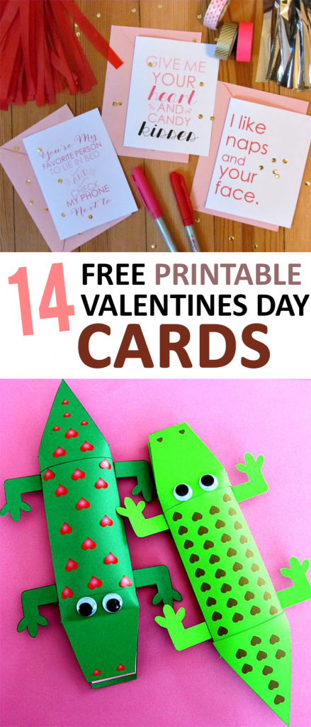 14 Free Printable Valentines Day Cards – | Valentine's Day Card Ideas Printables