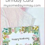 14 Modern Birthday Cards Printable Free : Lenq | 14Th Birthday Cards Printable