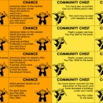 15 Best Photos Of Print Monopoly Chance Cards   Monopoly Chance | Monopoly Chance And Community Chest Cards Printable