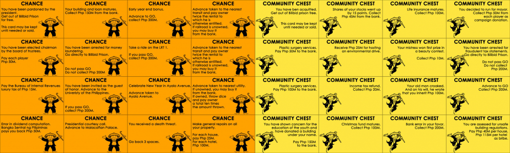 15 Best Photos Of Print Monopoly Chance Cards - Monopoly Chance | Monopoly Chance And Community Chest Cards Printable