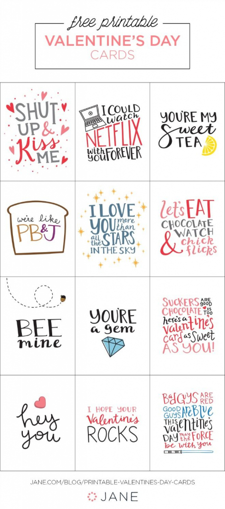 17 Free Printable Valentine Greeting Cards | Valentine's Inspiration | Printable Valentines Day Cards For Husband