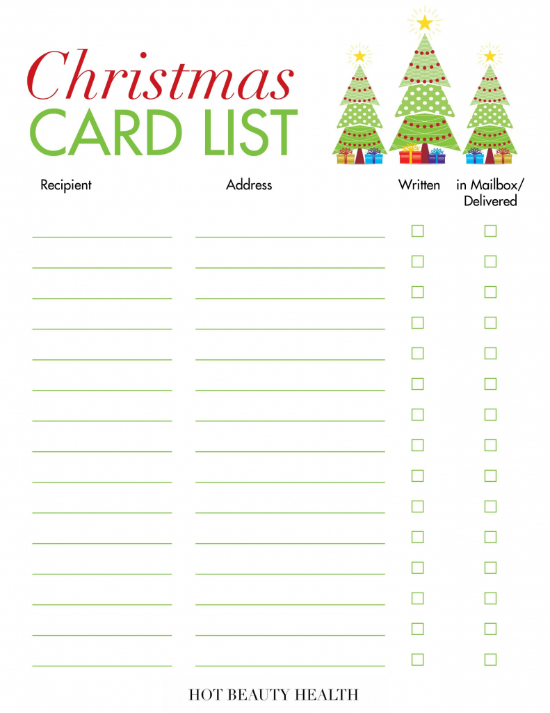 18 Best Places To Buy Holiday Cards This Year! | Printable Christmas Card List
