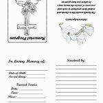 18 Elegant Free Printable Funeral Prayer Card Template – Wikimuslim | Free Printable Funeral Prayer Card Template