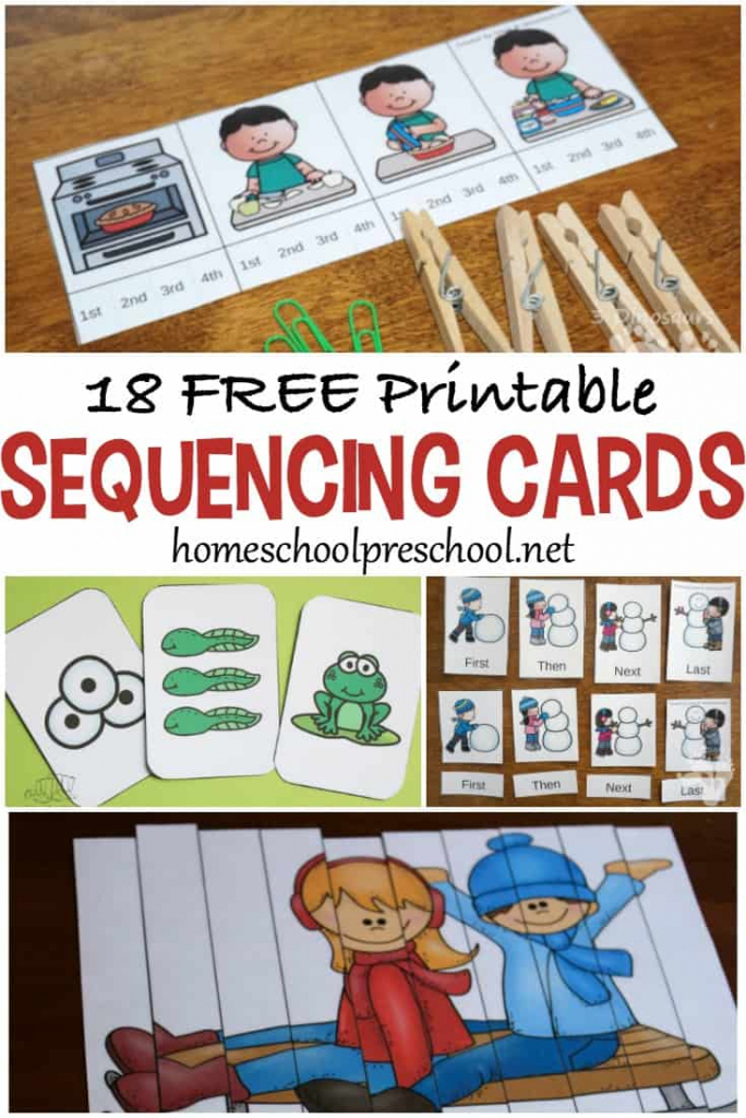 18 Free Printable Sequencing Cards For Preschoolers | Free Printable Sequencing Cards For Preschool