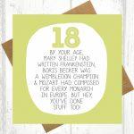 18Th Birthday Cards — Birthday Invitation Examples | Funny 18Th Birthday Cards Printable