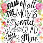 23 Mothers Day Cards   Free Printable Mother's Day Cards | Free Printable Mothers Day Cards From The Dog