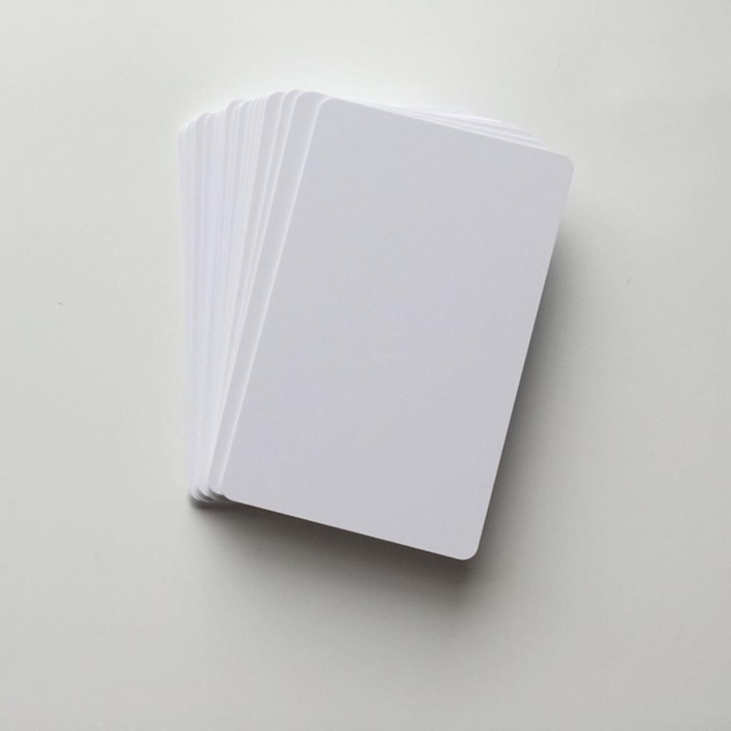 230Pcs Blank Plastic Pvc Id Card Inkjet Printable Business Card For | Inkjet Printable Pvc Id Cards