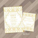 25 Free Printable Wedding Invitations | Free Printable Damask Place Cards