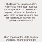 25 Images Of Jamberry Template 7 Day Challenge | Unemeuf | Jamberry 7 Day Challenge Cards Printable