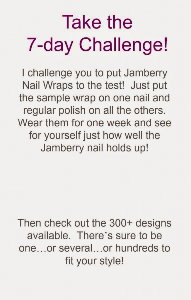 25 Images Of Jamberry Template 7-Day Challenge | Unemeuf | Jamberry 7 Day Challenge Cards Printable