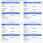 26 Images Of Template For Cards Free Medical Identification | Printable Wallet Medical Card