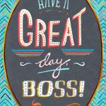 28 Great Boss's Day Cards | Kittybabylove | Bosses Day Cards Printable