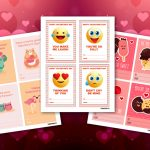 3 Free And Printable Valentine's Day Cards Perfect For Sharing At | Free Printable School Valentines Cards