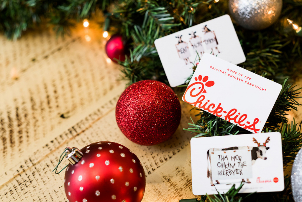 3 Reasons To Give A Chick-Fil-A Gift Card As A Holiday Present | Chick Fil A Printable Gift Card