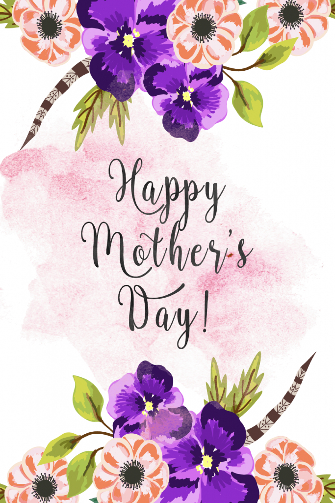 30 Cute Free Printable Mothers Day Cards - Mom Cards You Can Print | Free Printable Mothers Day Cards To My Wife