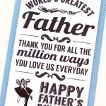 30 Free Printable Father's Day Cards   Cute Online Father's Day   Free Printable Fathers Day Cards For Preschoolers