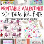30+ Free Printable Valentine Card Ideas For Preschool | Printable Valentine Cards For Kids
