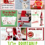 30+ Printable Elf On The Shelf Ideas   Over The Big Moon | Elf On A Shelf Printable Cards