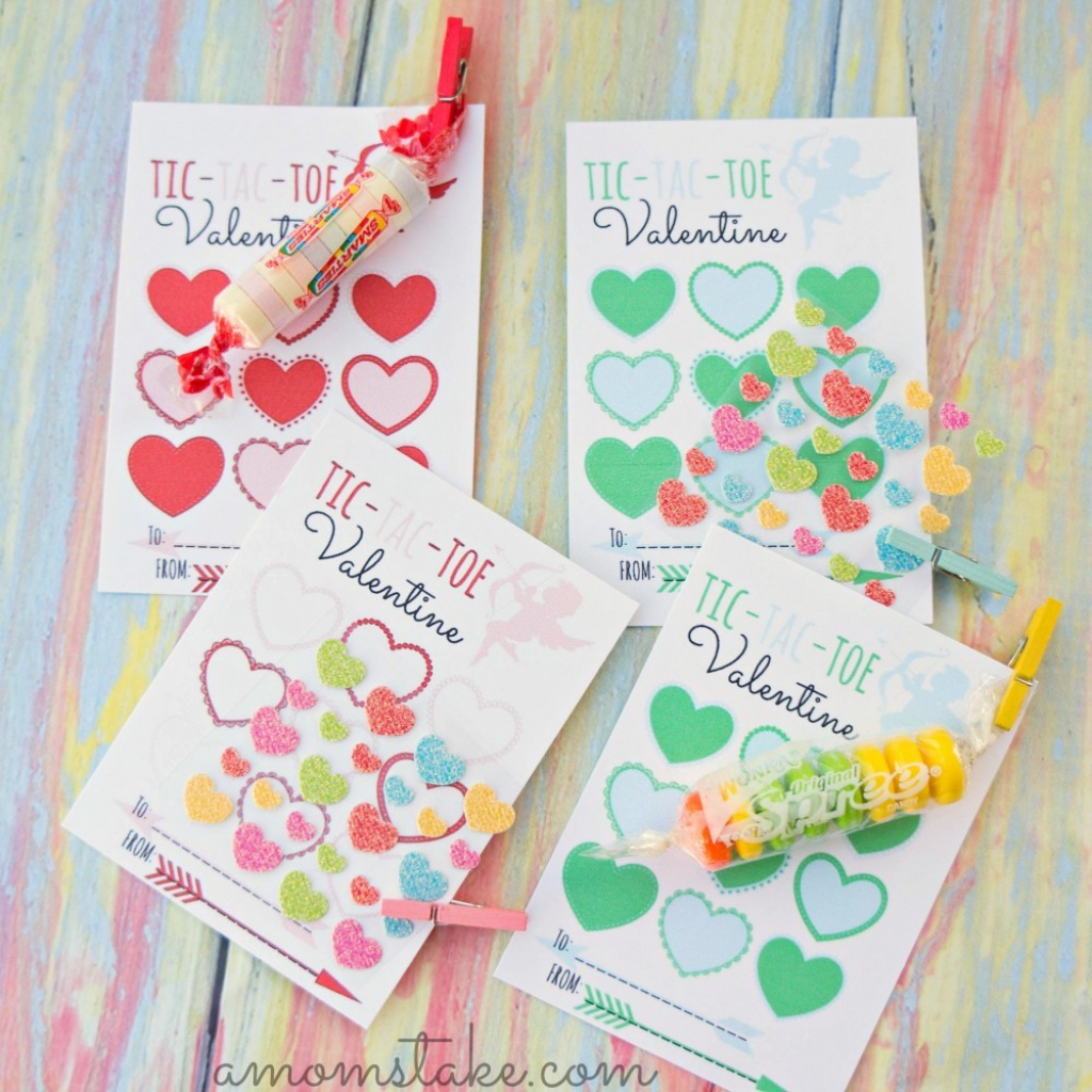 30 Super Cool Printable Valentine's Cards For The Classroom | Free Printable School Valentines Cards