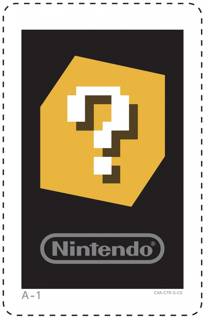 3Ds Ar Cards | Question Block | I Might Need This Later | Nintendo | 3Ds Printable Ar Cards