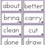 3Rd Grade Sight Words Flash Cards   Kleo.bergdorfbib.co | Sight Words Flash Cards Printable