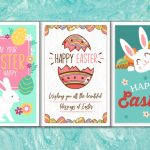 4 Colorful, Printable Easter Cards To Give To Friends And Family | Printable Easter Greeting Cards Free
