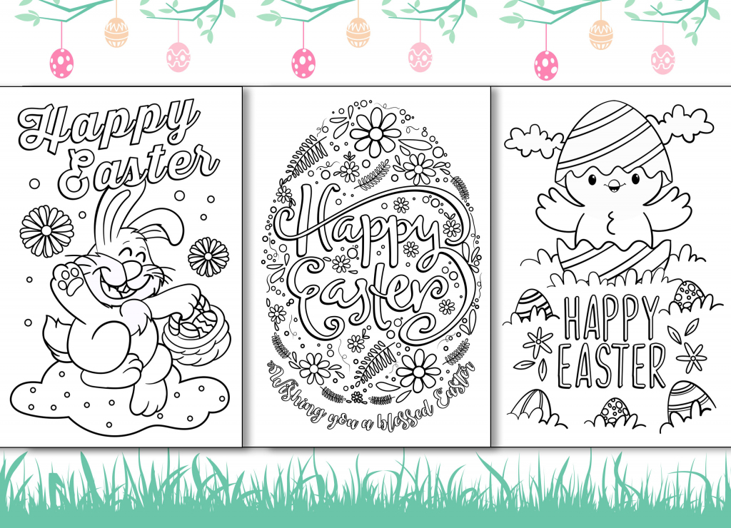 4 Free Printable Easter Cards For Your Friends And Family | Free Printable Cards To Color