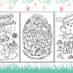 4 Free Printable Easter Cards For Your Friends And Family   Free Printable Easter Cards