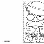 4 Free Printable Father's Day Cards To Color   Thanksgiving | Free Printable Fathers Day Cards