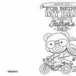 4 Free Printable Father's Day Cards To Color   Thanksgiving | Printable Fathers Day Cards To Color