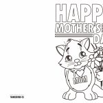 4 Free Printable Mother's Day Ecards To Color   Thanksgiving | Free Printable Mothers Day Cards To Color