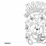 4 Free Printable Mother's Day Ecards To Color   Thanksgiving | Printable Mothers Day Cards To Color