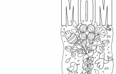 4 Free Printable Mother's Day Ecards To Color – Thanksgiving | Printable Mothers Day Cards To Color