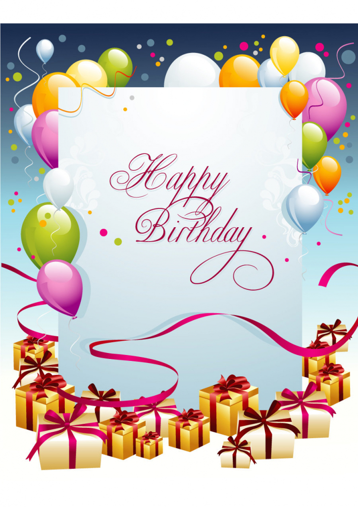 40+ Free Birthday Card Templates ᐅ Template Lab | Free Printable Birthday Cards For Wife