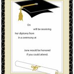 40+ Free Graduation Invitation Templates ᐅ Template Lab | Graduation Invitation Cards Printable