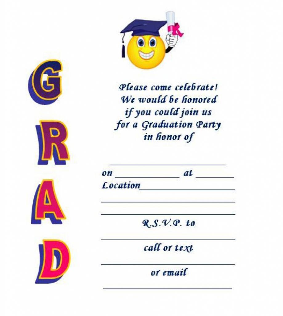 40+ Free Graduation Invitation Templates ᐅ Template Lab | Graduation Invitation Cards Printable